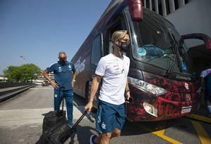 Diego Ribas, meio-campista do Flamengo Foto: Alexandre Vidal / FLamengo