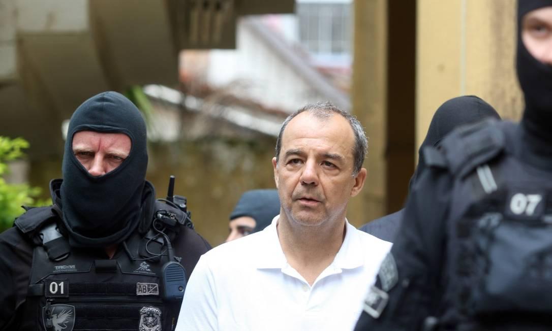 Ex--governador Sergio Cabral Foto: Theo Marques / Agência O Globo