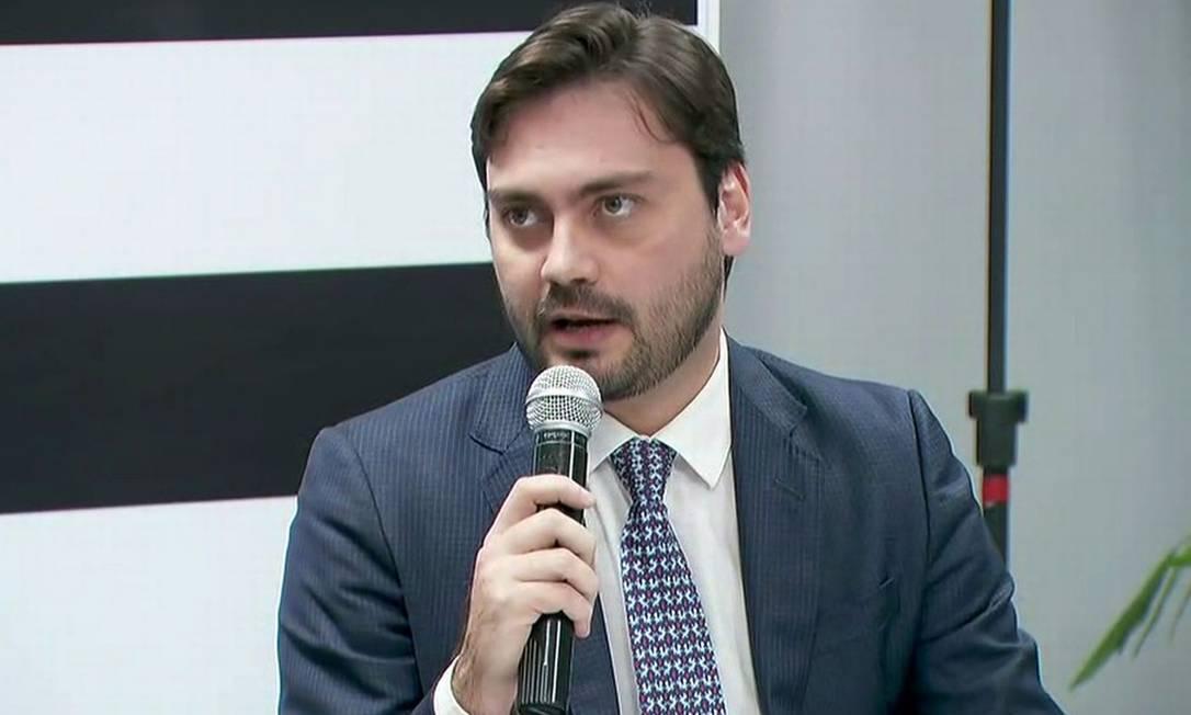 Filipe Sabará, candidato do Novo à prefeitura de São Paulo Foto: Reprodução / TV Globo