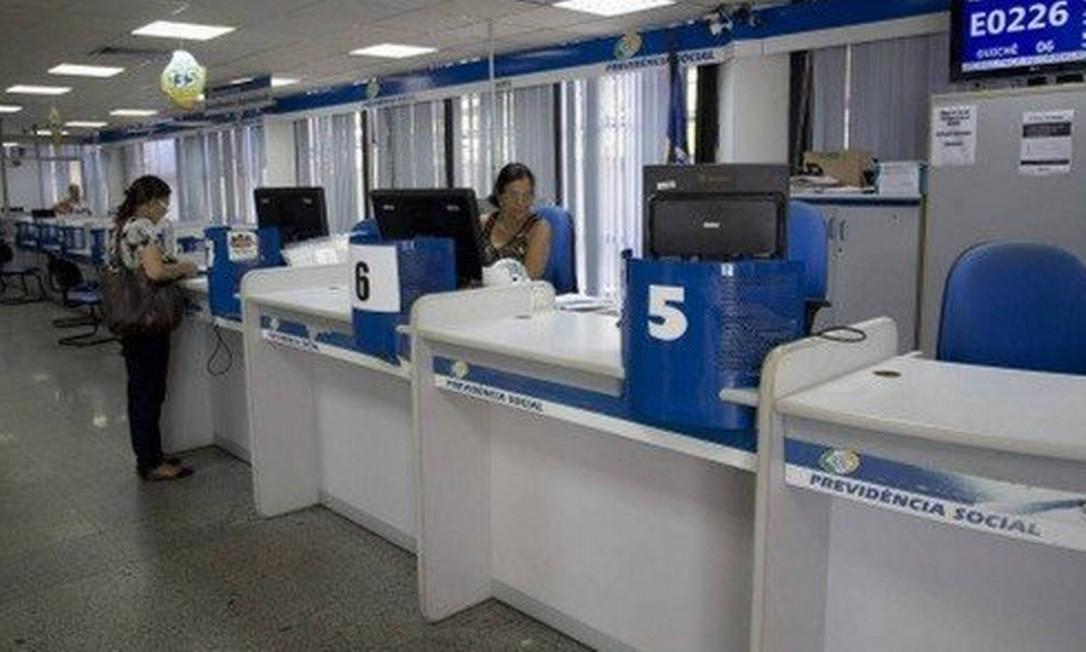 Agência do INSS: perícias serão reagendadas. Foto: Agência O Globo