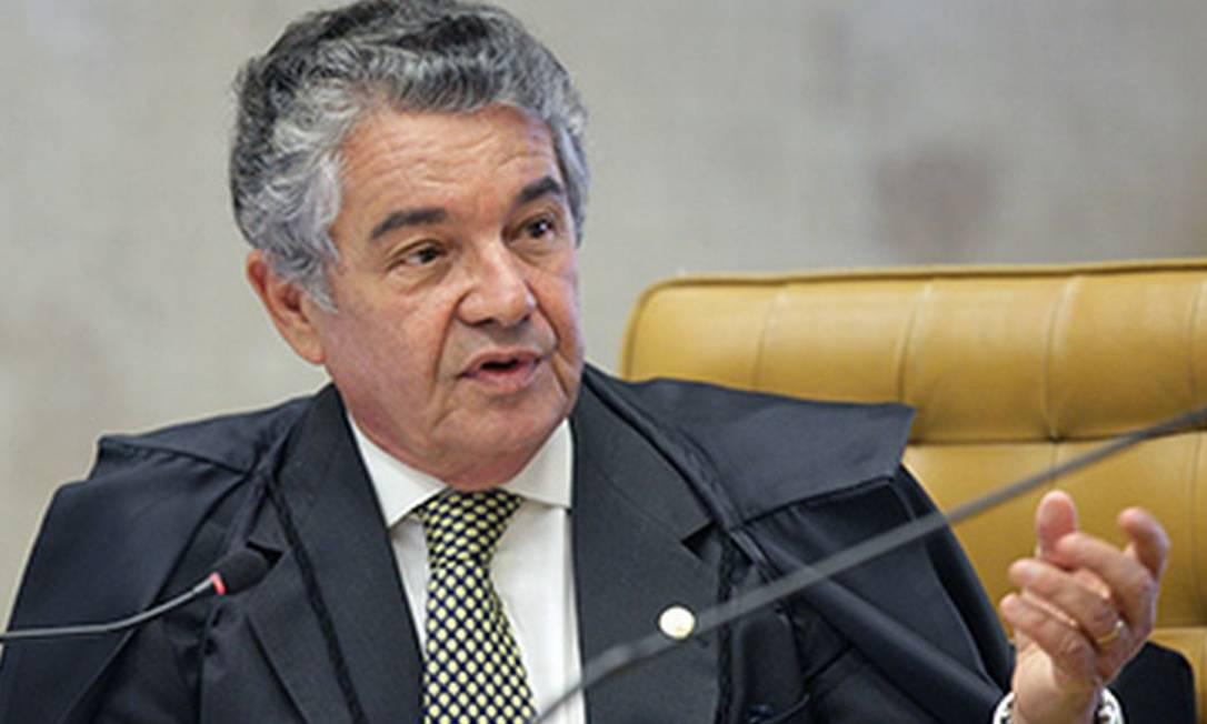 O ministro do STF Marco Aurélio Melo Foto: Nelson Jr / STF
