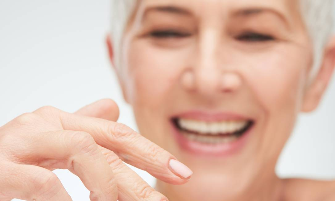 Perda de cólageno dobra a partir da menopausa Foto: Shutterstock