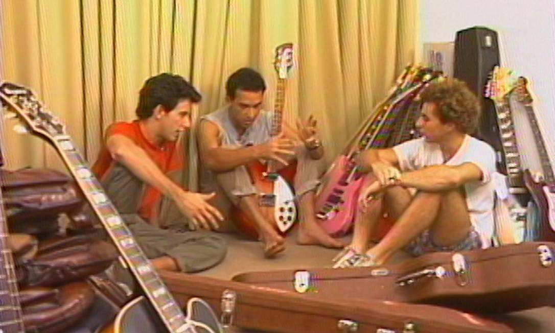 Documentário 'Os quatro Paralamas' Foto: Divulgação