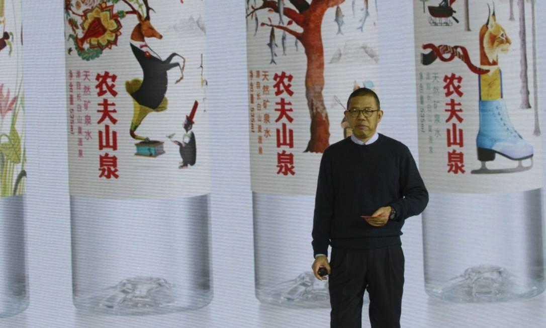 Recluso, Zhong Shanshan impressiona por ter construído duas empresas avaliadas em mais de US$ 10 bilhões Foto: VCG / Getty Images via Bloomberg