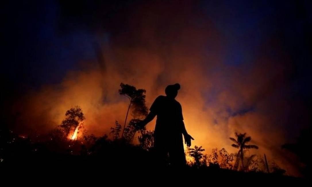 Queimadas no Pantanal bateram recorde histórico neste ano e causaram repercussão mundial Foto: Reuters