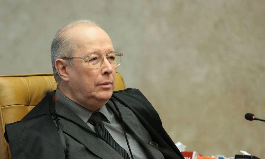 Ministro Celso de Mello Foto: Carlos Moura / STF