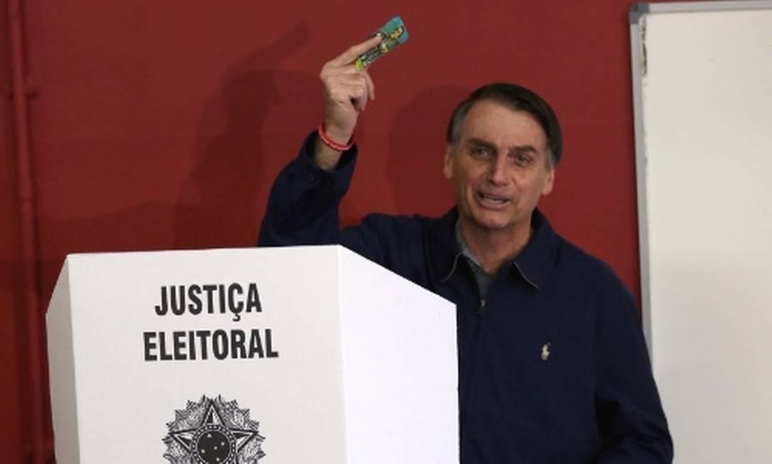 """52 candidatos já optaram por usar """"Bolsonaro"""" nas urnas Foto: Reuters"""