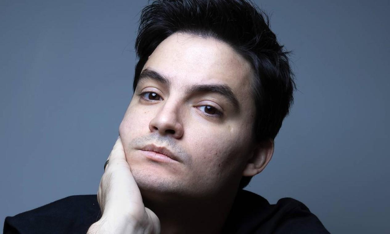 Influente, ele tem mais de 39,5 milhões de seguidores no YouTube Foto: Leonardo Aversa / Agência O Globo