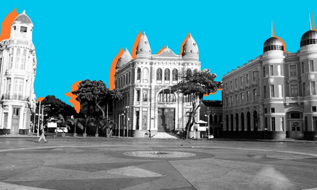 Eleição em Recife tem disputa familiar e pelo discurso bolsonarista Foto: Editoria de Arte
