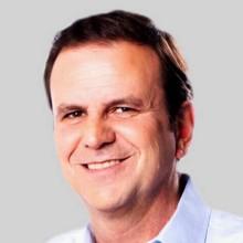 O candidato a prefeito do Rio, Eduardo Paes (Democratas) Foto: O GLOBO