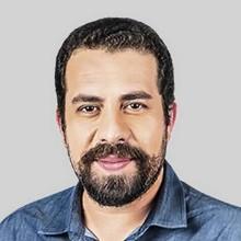O candidato a prefeito de São Paulo, Guilherme Boulos (Psol) Foto: O GLOBO
