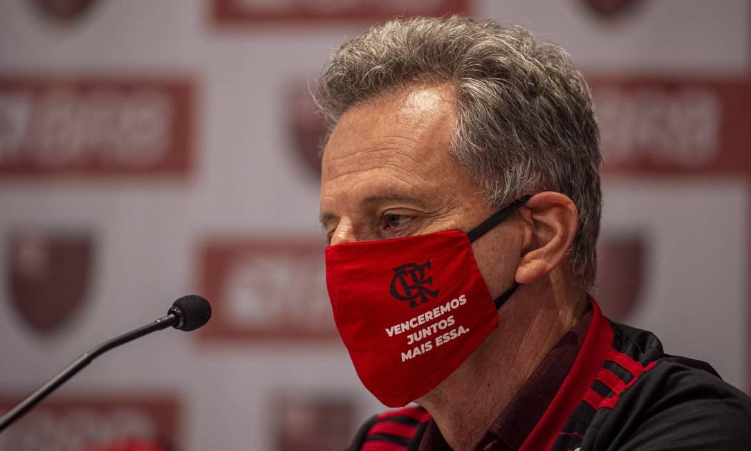 Rodolfo Landim, presidente do Flamengo Foto: Marcelo Cortes / Marcelo Cortes/Flamengo