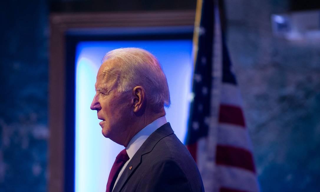 Joe Biden, candidato democrata à Presidência dos Estados Unidos Foto: ROBERTO SCHMIDT / AFP