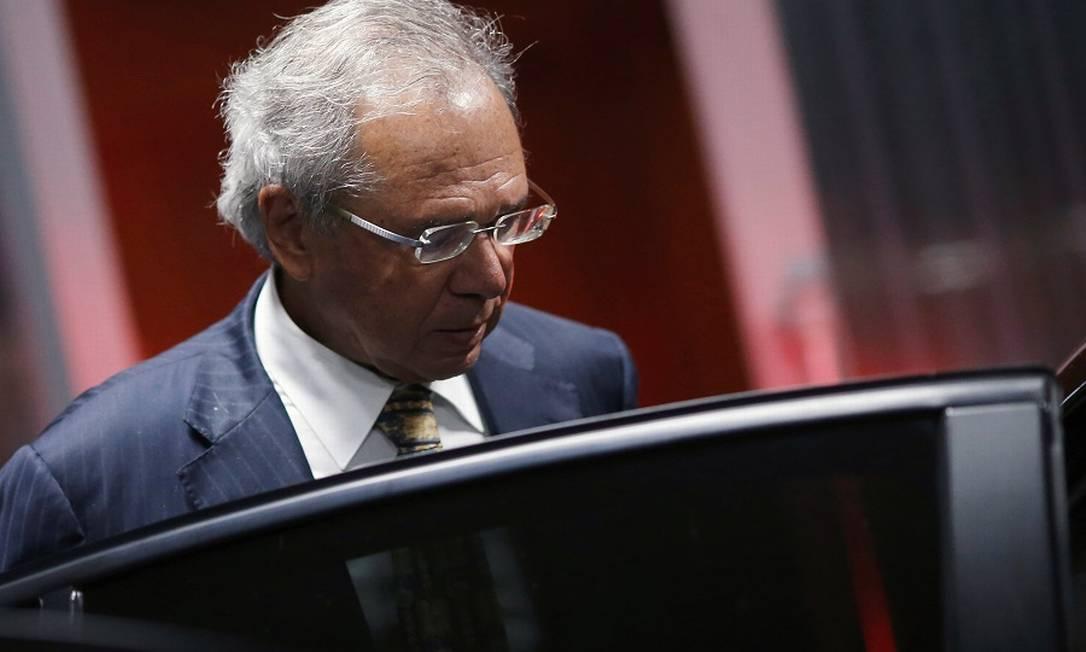 O ministro da Economia, Paulo Guedes: sigilo sobre reforma. Foto: Adriano Machado / Reuters