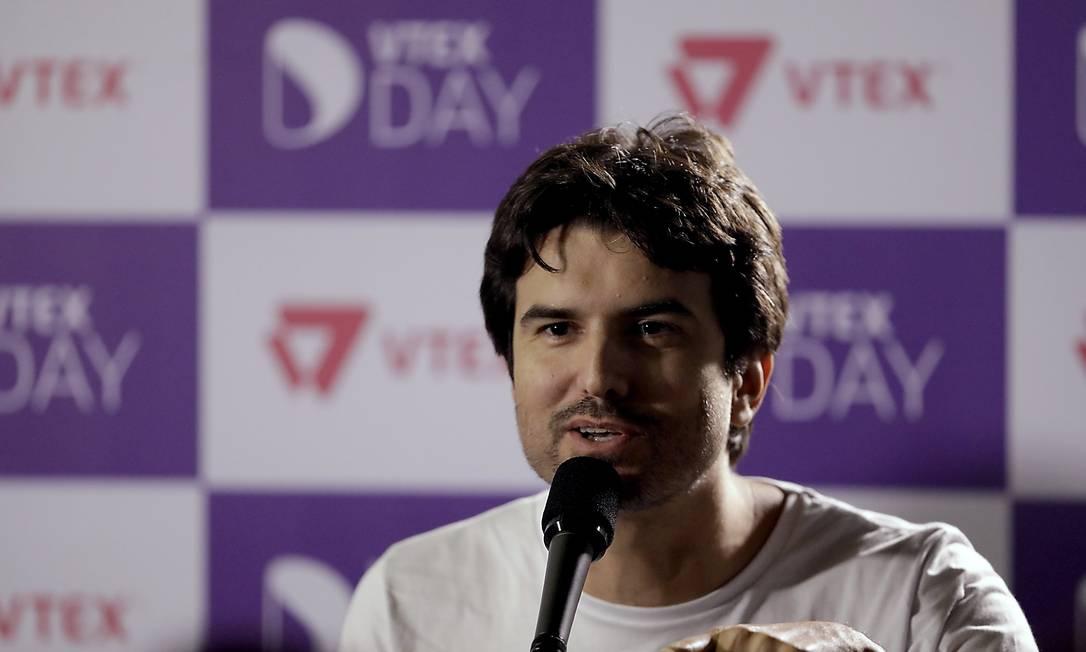 A VTEX, que tem Geraldo Thomaz como um dos cofundadores, se tornou mais um unicórnio brasileiro nesta semana Foto: CJPress / Agência O Globo