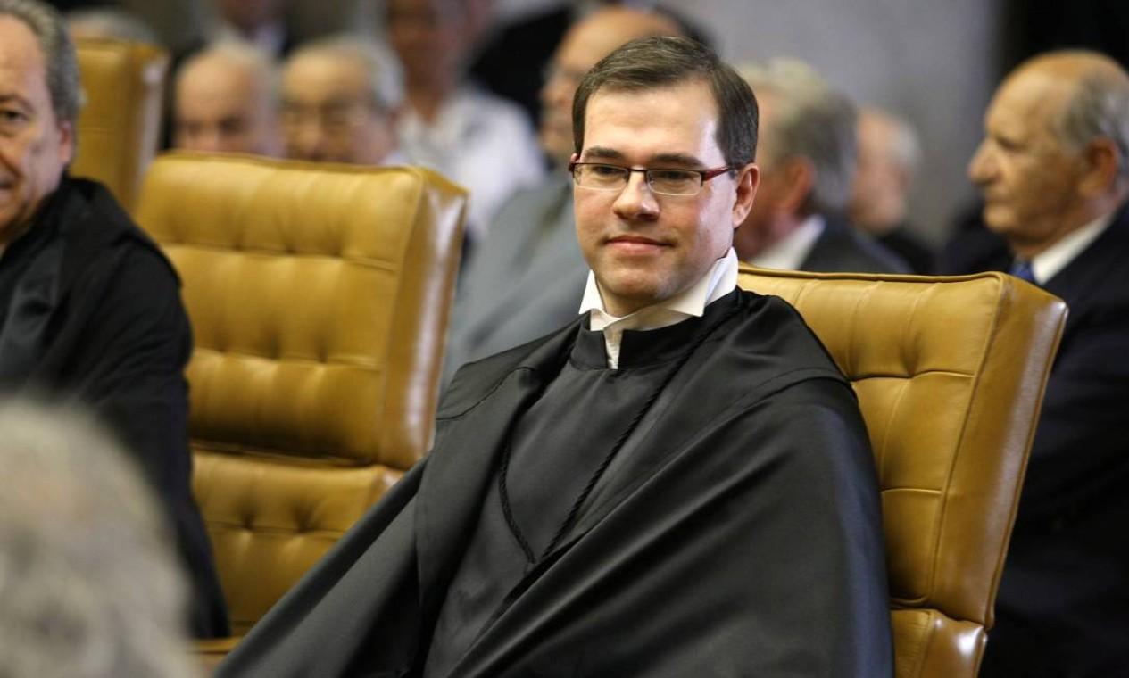 José Antonio Dias Toffoli foi nomeado ao STF em 2009. Foi a última indicação de Lula enquanto presidente Foto: Aílton de Freitas / Agência O Globo - 23/10/2009