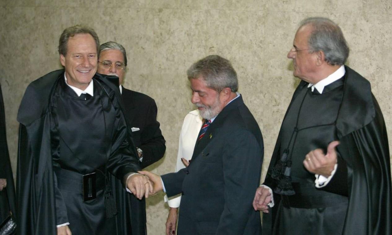 Enrique Ricardo Lewandowski foi a primeira indicação do ex-presidente Lula ao Supremo, em 2006 Foto: Gustavo Miranda / Agência O Globo - 16/03/2006