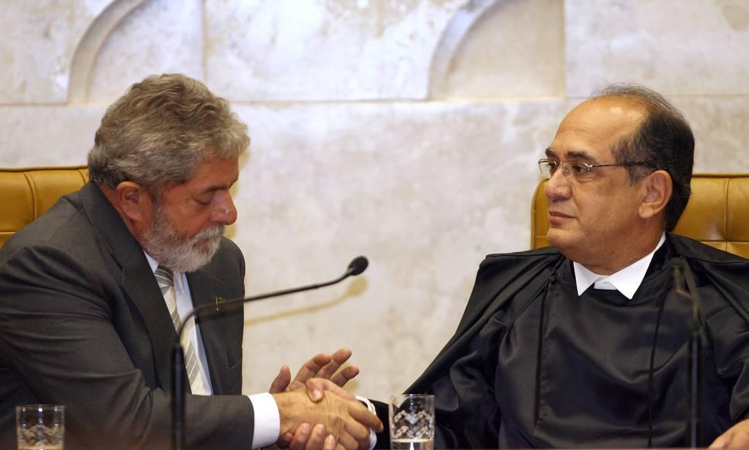 Gilmar Ferreira Mendes foi a única indicação do presidente Fernando Henrique Cardoso ao STF. Ele foi nomeado em 2002 Foto: Gustavo Miranda / Agência O Globo - 24/04/2008