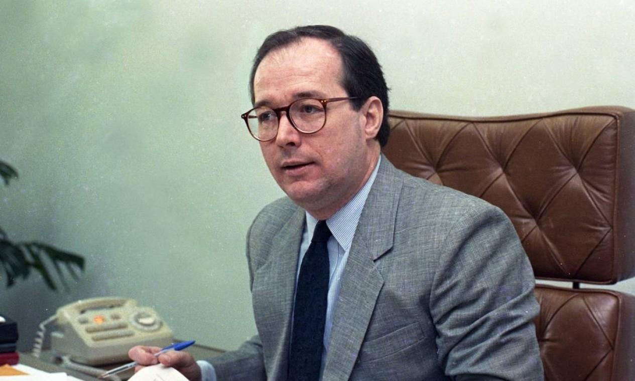 José Celso de Mello Filho foi empossado como ministro do Supremo Tribunal Federal (STF), em 1989, por indicação do ex-presidente José Sarney Foto: Celso Meira / Agência O Globo - 04/06/1990