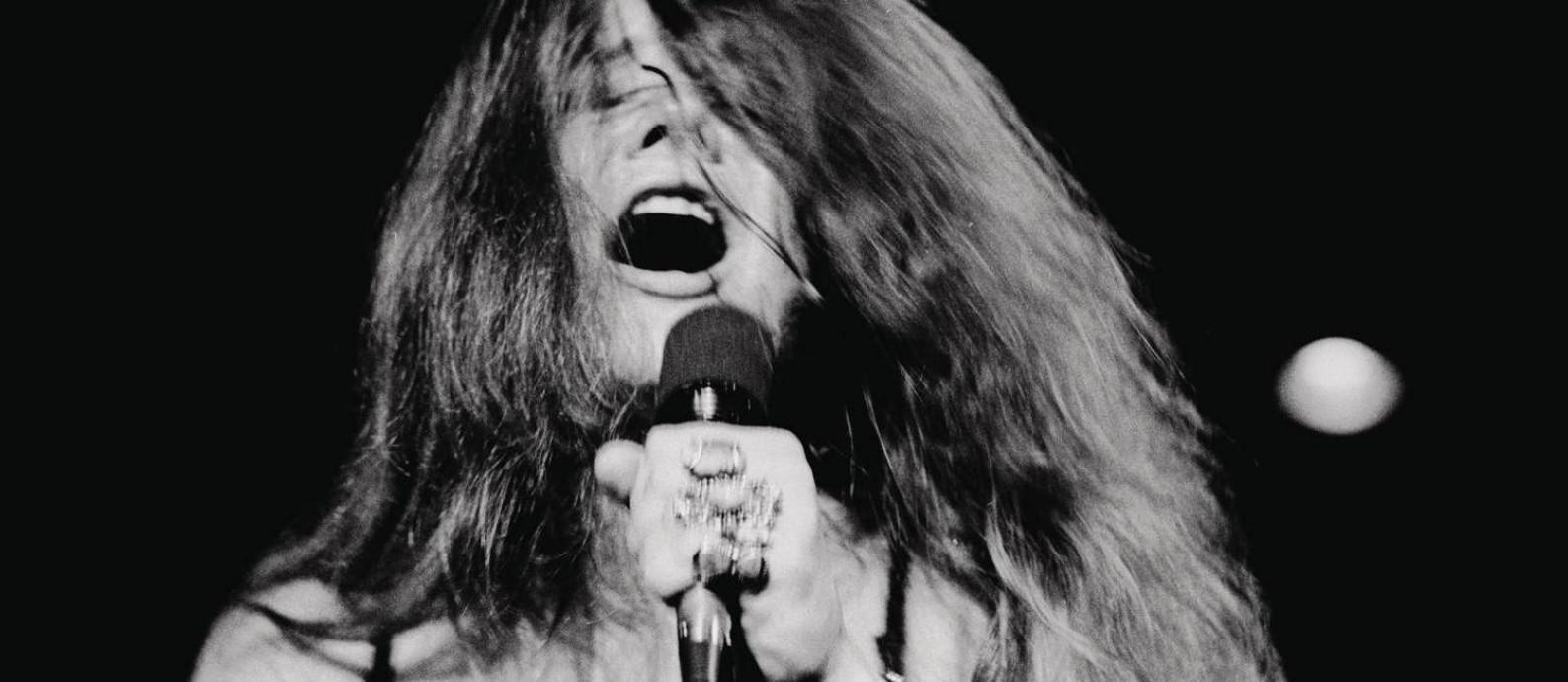 A cantora americana Janis Joplin Foto: Don Hunstein / Divulgação