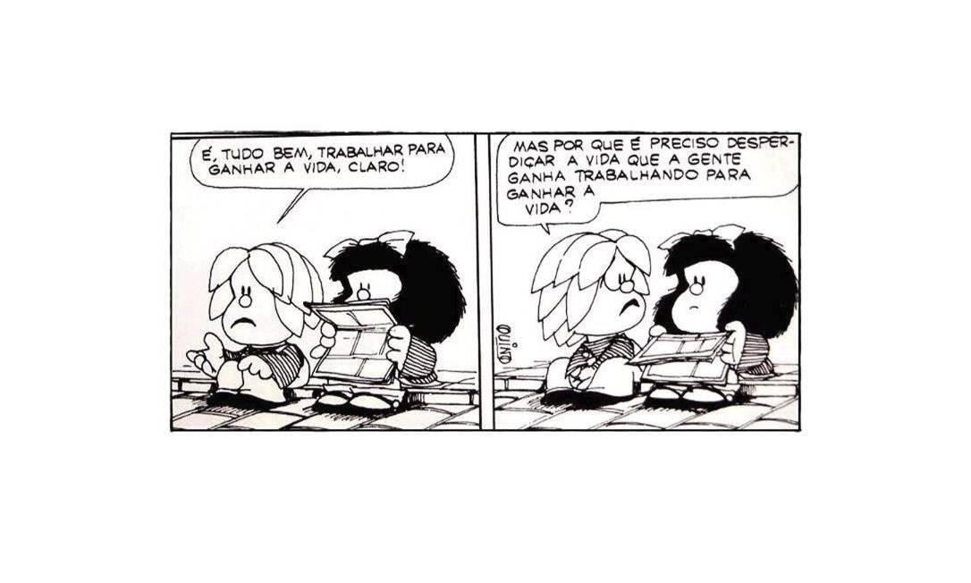 Quino no Brasil: o dia em que Mafalda encontrou a Mônica - Jornal O Globo