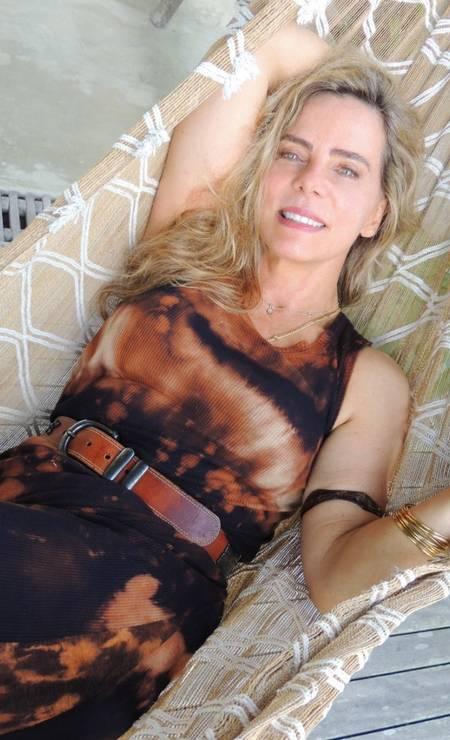 Bruna Lombardi Foto: Reprodução