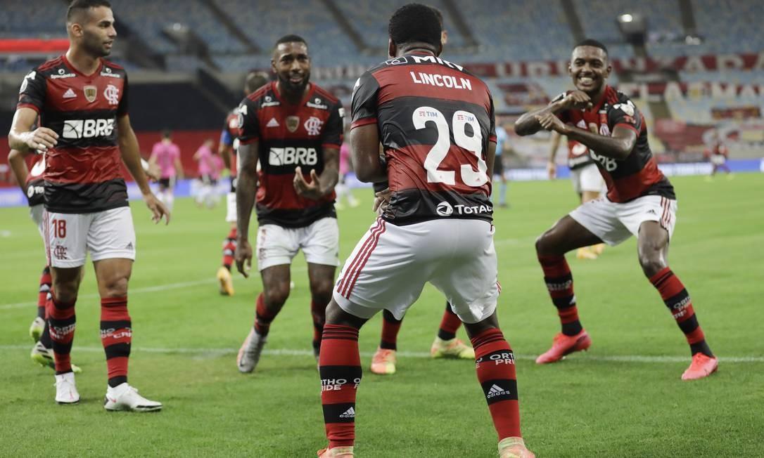 Flamengo Goleia O Del Valle Na Libertadores E Antecipa Classificacao As Oitavas Jornal O Globo