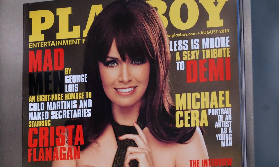 A Playboy foi dona de uma das mais conhecidas revistas eróticas, que abandonou a publicação impressa no início do ano Foto: Jonathan Fickies / Bloomberg