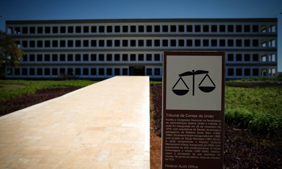Sede do Tribunal de Contas da União (TCU) em Brasília Foto: Pablo Jacob / Agência O Globo