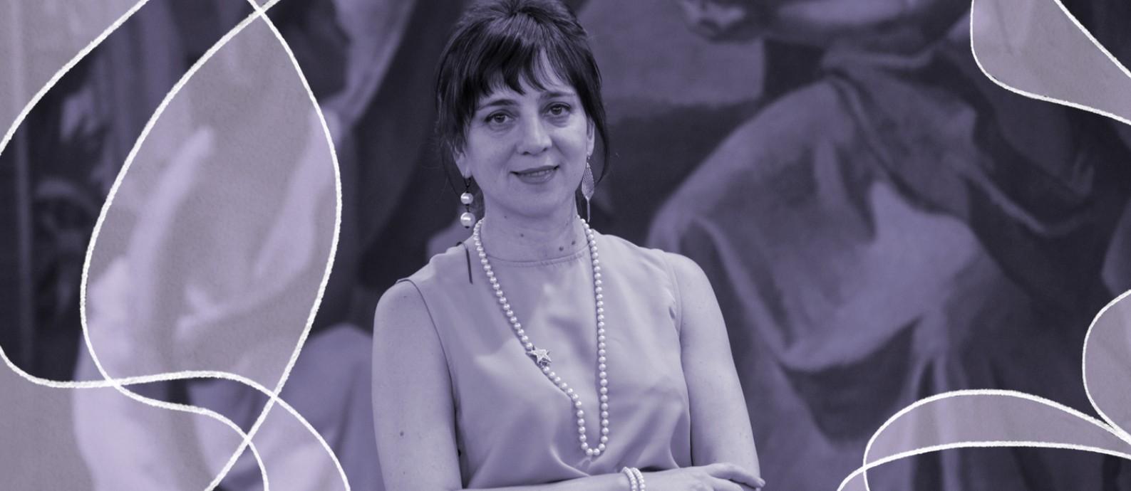 A economista Mercedes D'Alessandro é autora de um livro sobre economia feminista (ainda inédito no Brasil) e, neste ano, assumiu o cargo de diretora nacional de Economia, Igualdade e Gênero do Ministério da Economia argentino Foto: Reprodução/Twitter