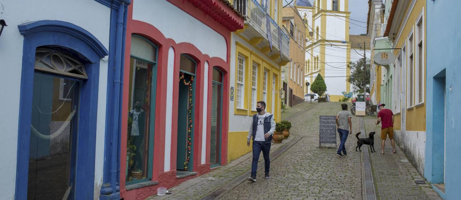 Os R$ 23 milhões recebidos em royalties não tem gerado reflexo na educação de São Francisco do Sul, em Santa Catarina Foto: Caio Cezar / Agência O Globo