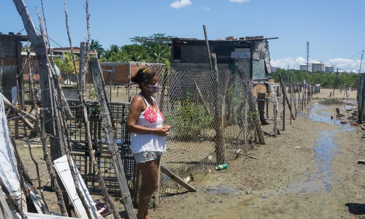 Em Madre de Deus, na Bahia, desemprego é alto: Lide de Jesus está a procura de trabalho Foto: Daniele Rodrigues