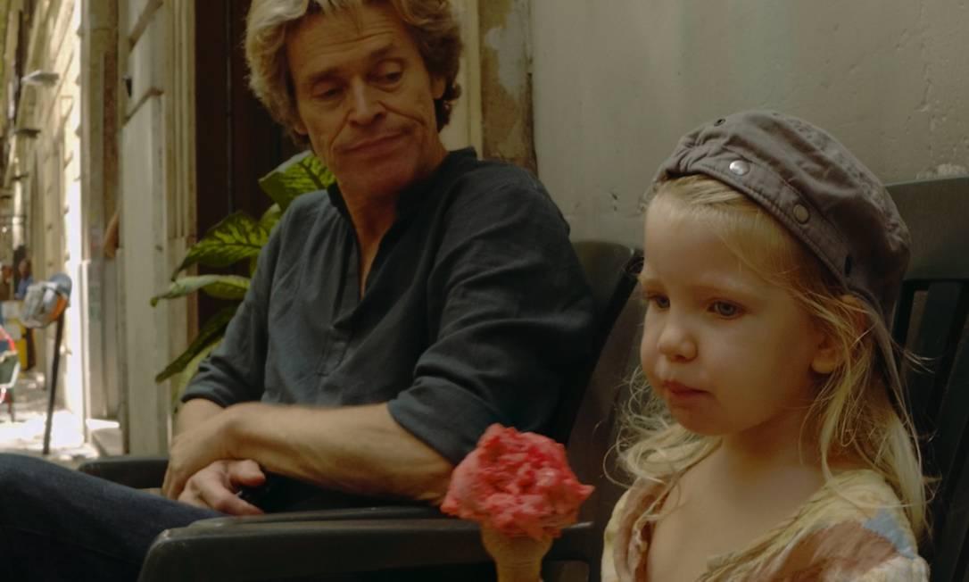 William Dafoe é o protagonista de 'Tommaso', mais uma parceria com o diretor Abel Ferrara Foto: Divulgação