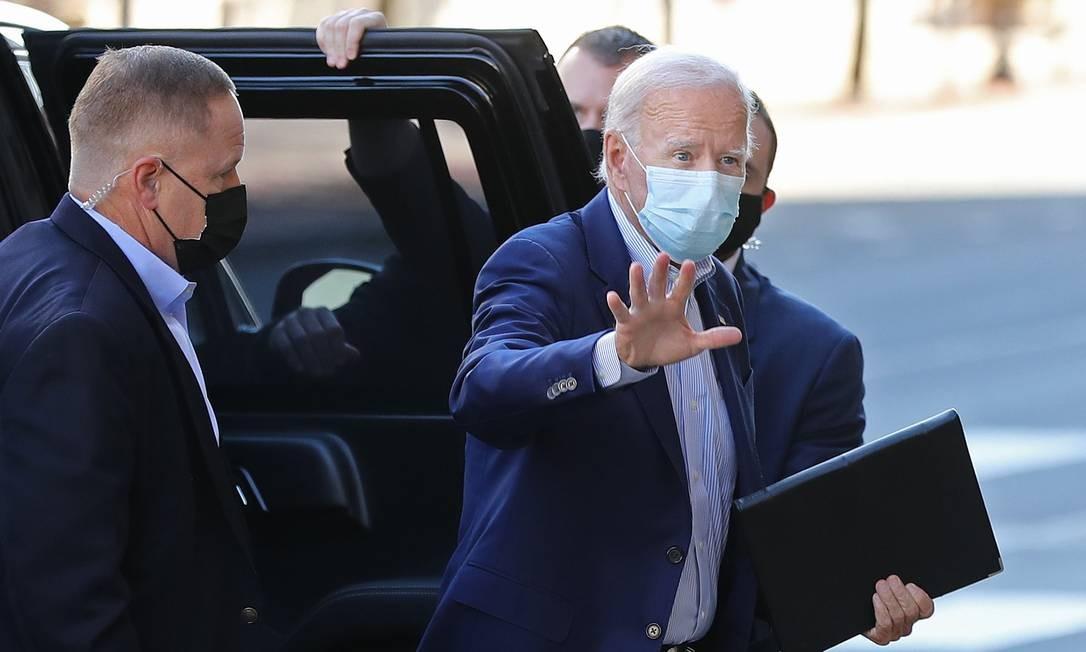 Biden, que subiu nas pesquisas depois do debate da semana passada, tem uma longa experiência de lidar com a América Latina Foto: CHIP SOMODEVILLA / AFP/30-9-2020