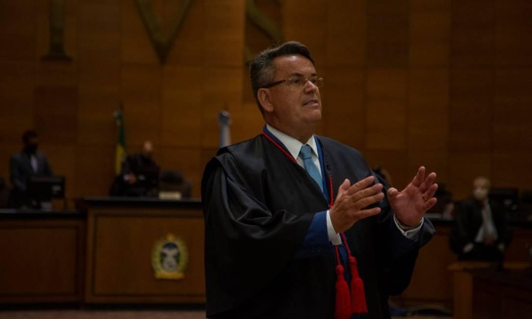 O presidente do Tribunal de Justiça do Rio, Claudio de Mello Tavares Foto: Gabriel Monteiro em28/09/2020 / Agência O Globo