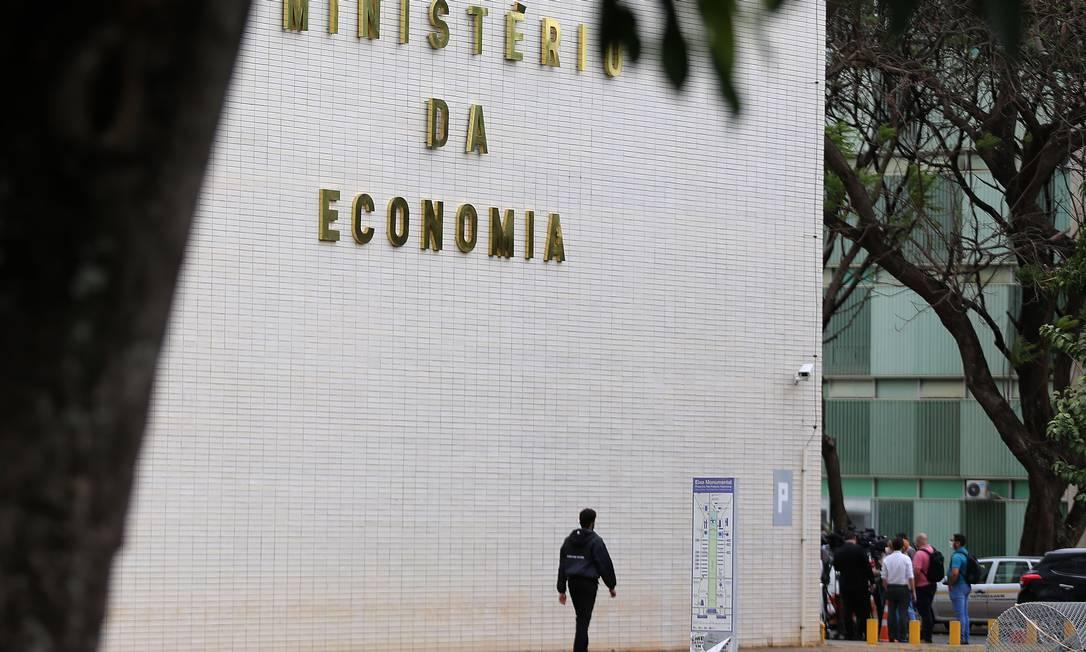 Ministério da Economia, em Brasília Foto: Jorge William / Agência O Globo