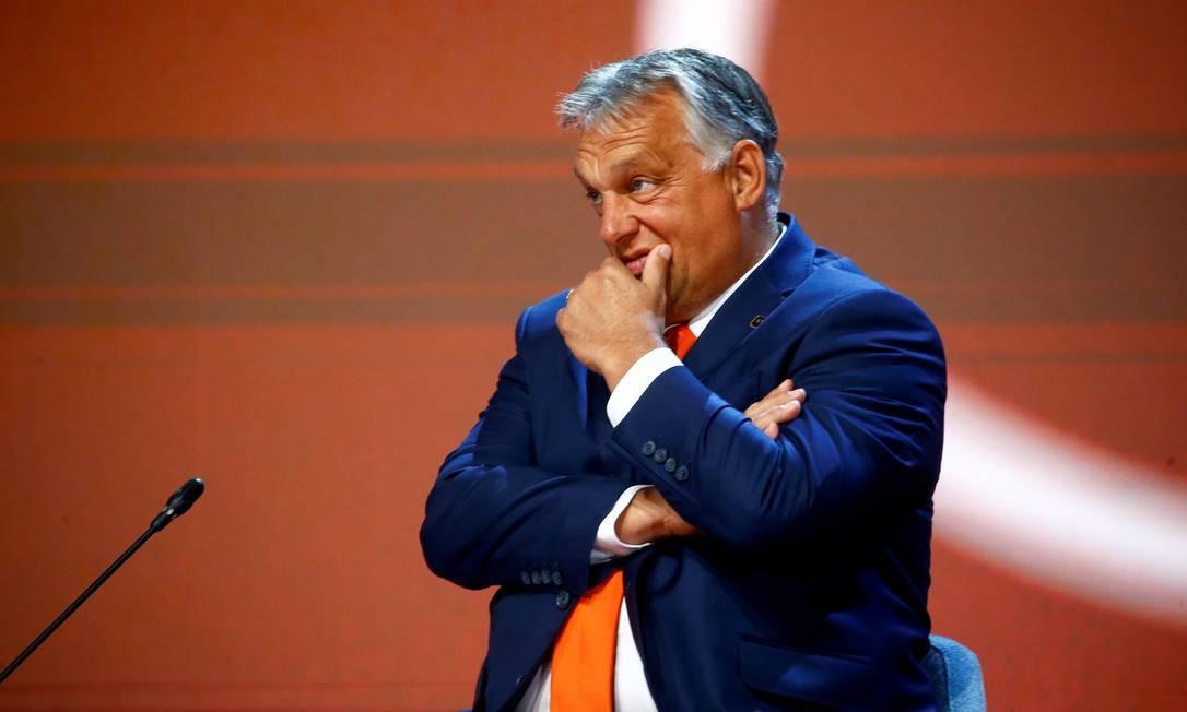 Viktor Orbán, primeiro-ministro da Hungria Foto: Borut Zivulovic / Reuters