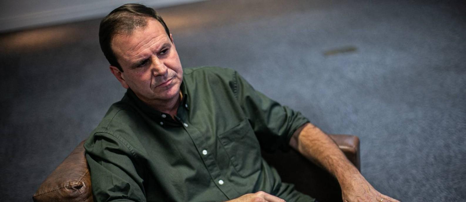 Eduardo Paes é novamente candidato à prefeitura do Rio Foto: Hermes de Paula / Agência O Globo
