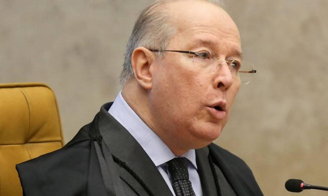 Ex-ministro do STF Celso de Mello Foto: Lula Marques