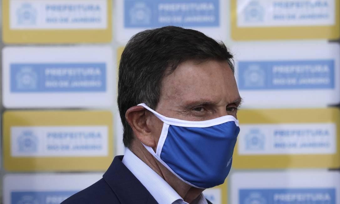 O prefeito do Rio, Marcelo Crivella Foto: Luiza Moraes / Agência O Globo