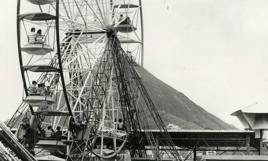 Roda gigante do Tivoli Park Foto: Jorge Peter / Agência O Globo