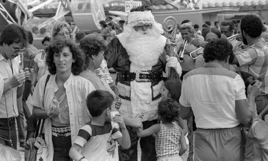 Tivoli era opção para festa de Natal para confraternização de empresas Foto: Cezar Loureiro / Agência O Globo