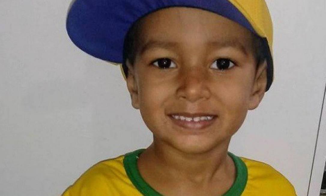 Arthur Esperança foi atigido na cabeça no Morro do São João Foto: Reprodução