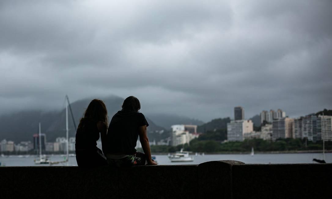 Quinta-feira no Rio será com pancadas de chuva e ventos moderado a forte Foto: Hermes de Paula/4-10-2020 / Agência O Globo