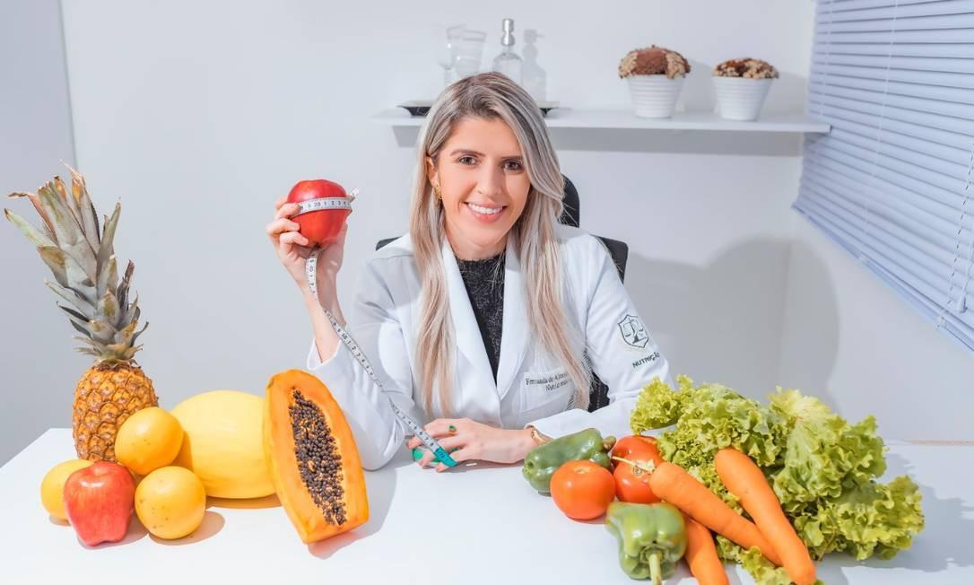 A nutricionista Fernanda de Almeida dá dicas de emagrecimento saudável Foto: Divulgação/Filipe Barros
