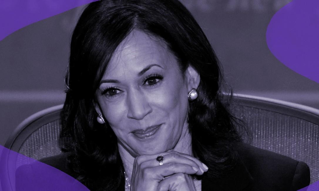 Kamala Harris, candidata democrata à vice-presidência dos EUA, na chapa de Joe Biden Foto: Reuters/Brian Snyder