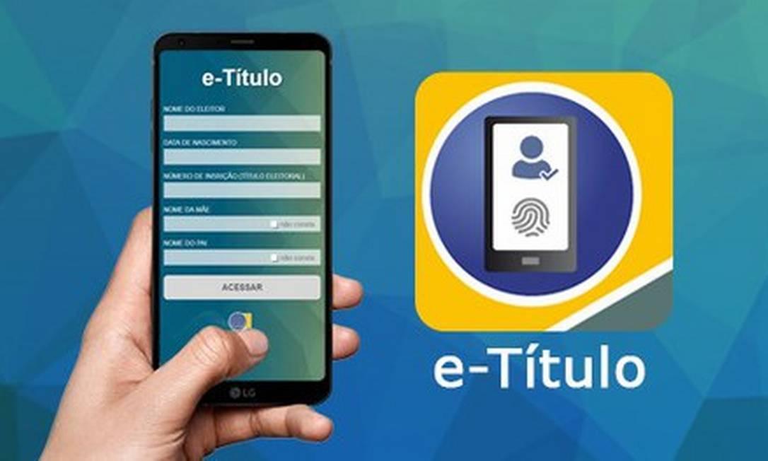 Eleitor poderá justificar ausência nas urnas por meio do aplicativo do TSE Foto: Divulgação