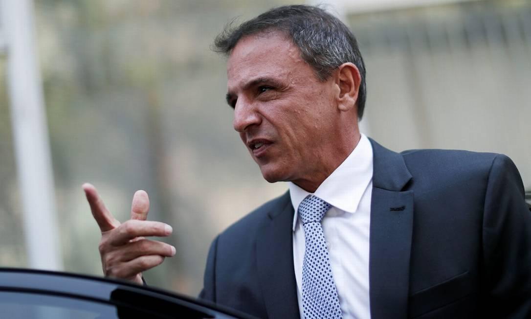 O senador Márcio Bittar, relator da PEC emergencial Foto: UESLEI MARCELINO / REUTERS