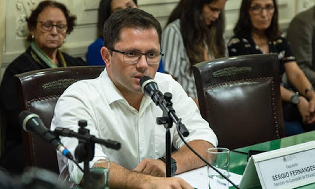Sérgio Fernandes, que assumirá cadeira na Assembleia Legislativa do Rio Foto: Divulgação/ Alerj
