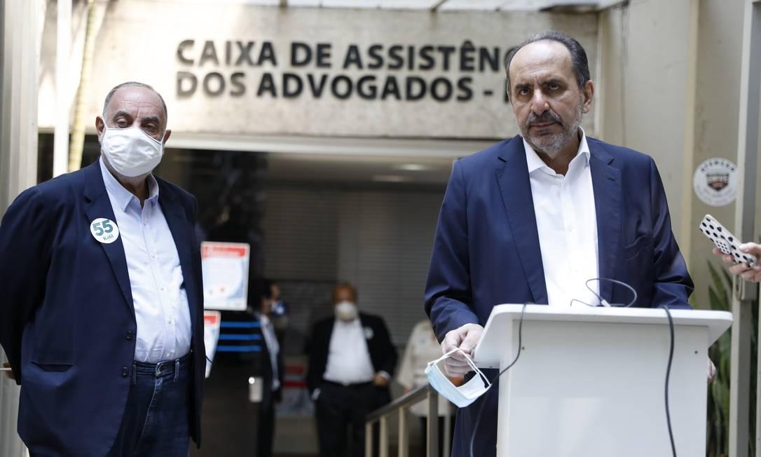 O prefeito de Belo Horizonte e candidato à reeleição Alexandre Kalil cumpre agenda de campanha Foto: Divulgação